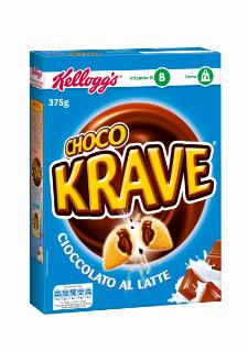 kellogg's choco krave cioccolato al latte