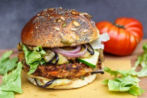 Veggie burger vegetali