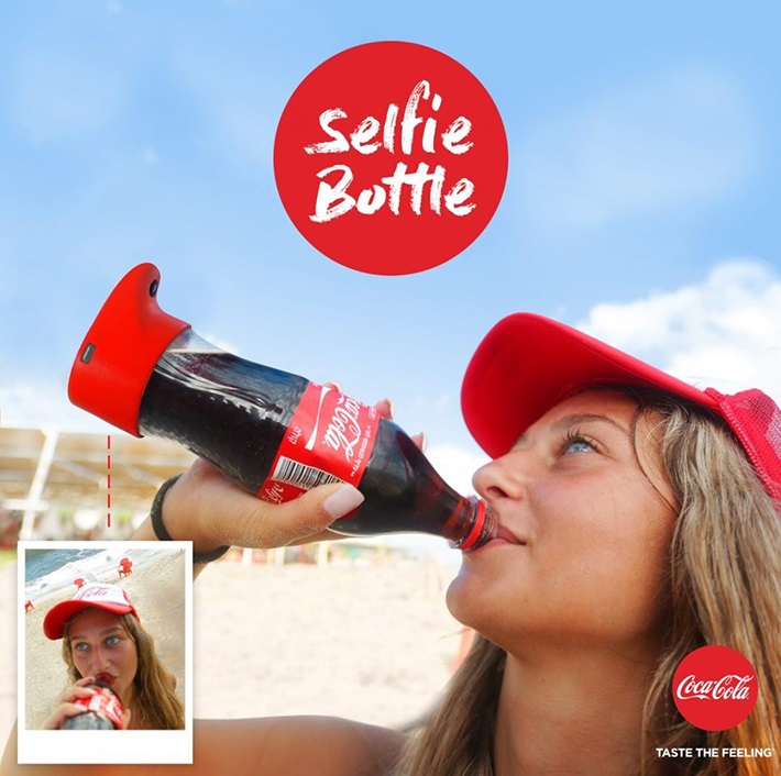 selfiebottle coca-cola