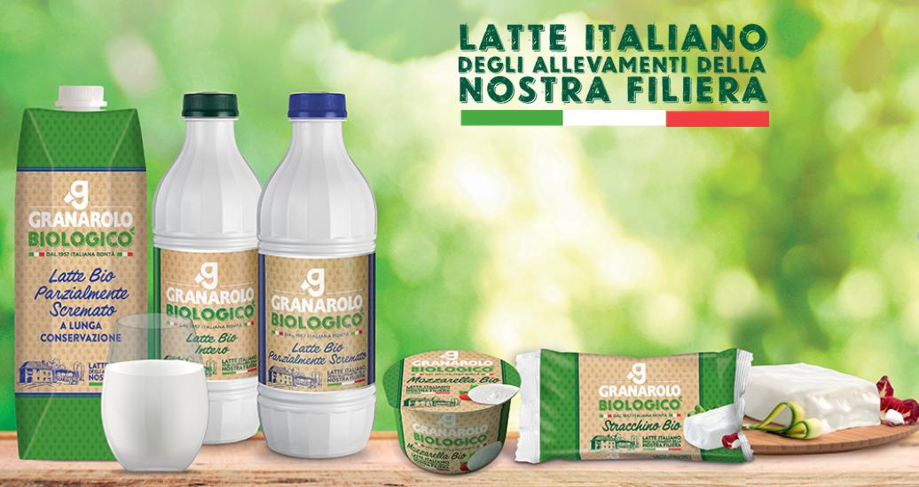 Granarolo biologico latte e latticini