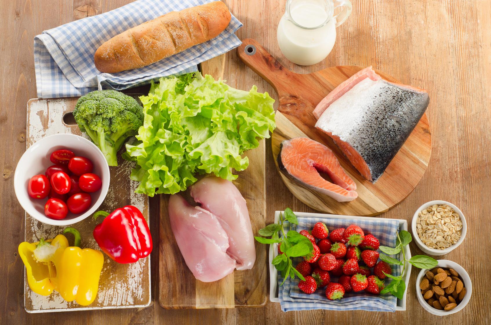 malnutrizione dieta bilanciata cibo