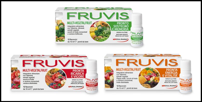 Fruvis Pool Pharma integratore multivitaminica