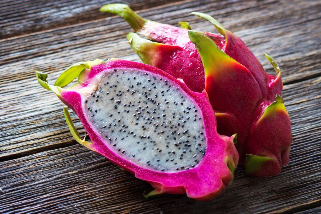 pitaya frutta drago fruit cibo etnico