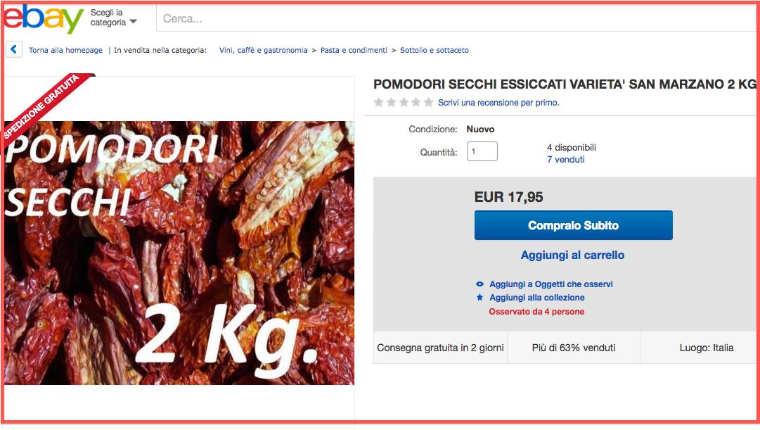 vendita online