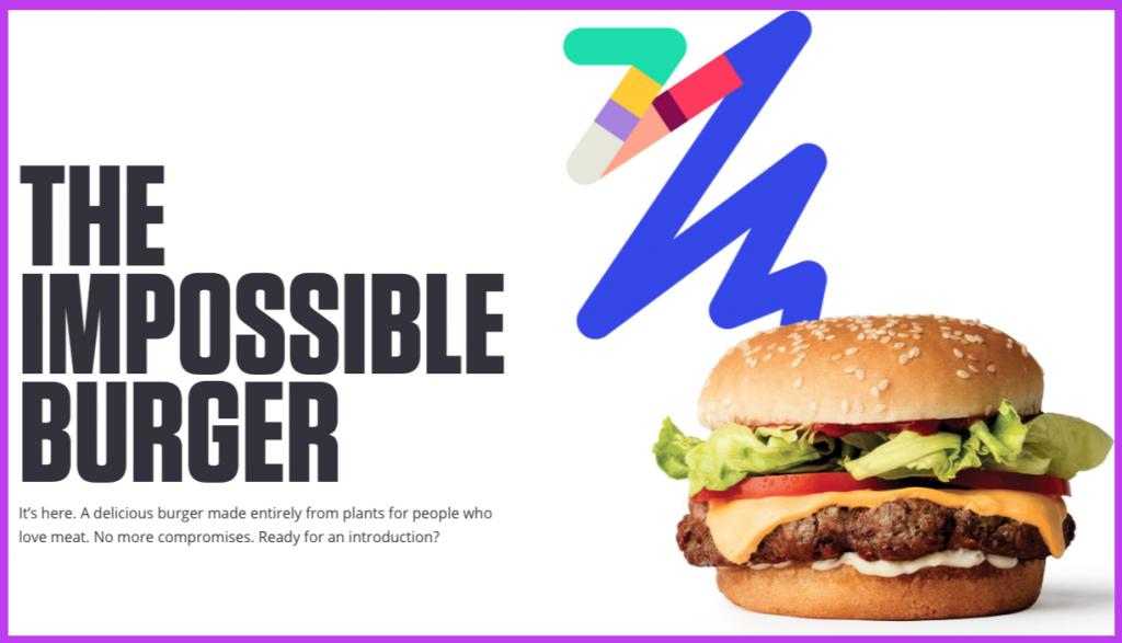 hamburger senza carne