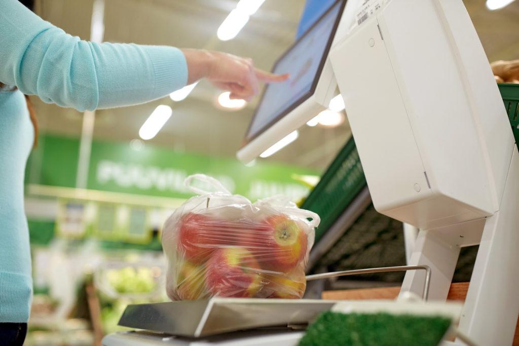 Sacchetti supermercato ortofrutta frutta verdura
