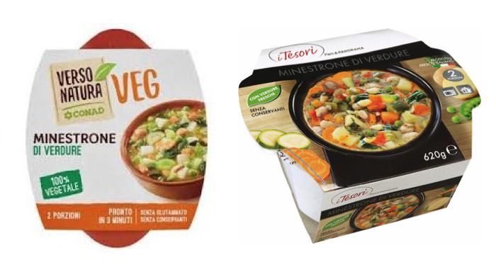 minestrone di verdura conad pam
