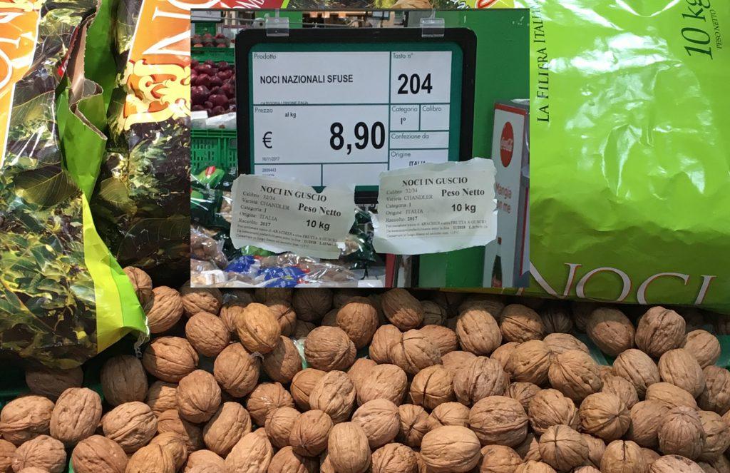 noci supermercato