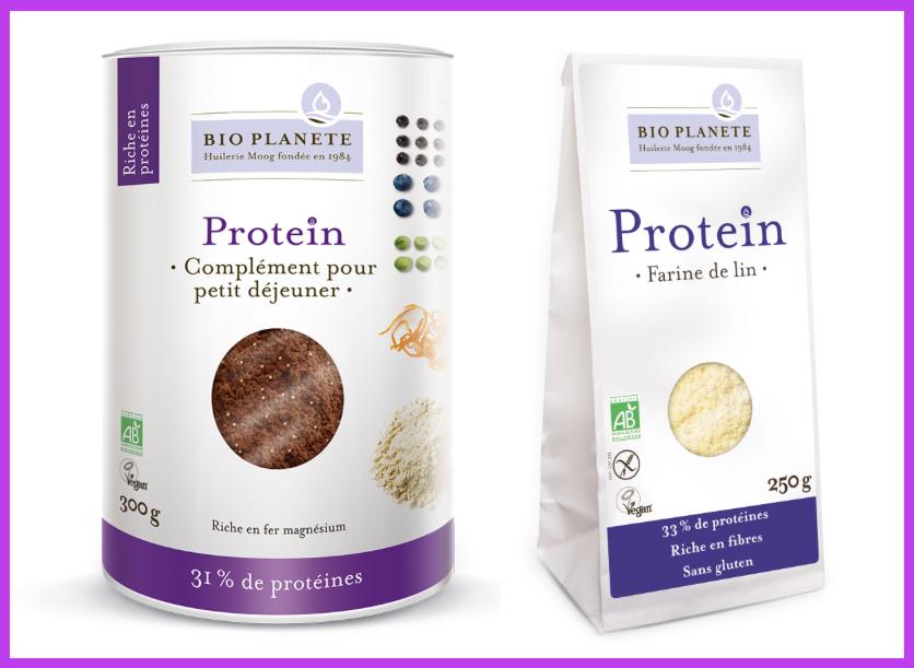 BIO PLANeTE proteine semi di lino glutine