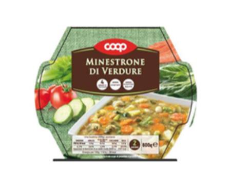 coop minestrone di verdure fresco