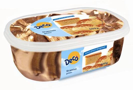 vaschetta gelato tiramisu deco