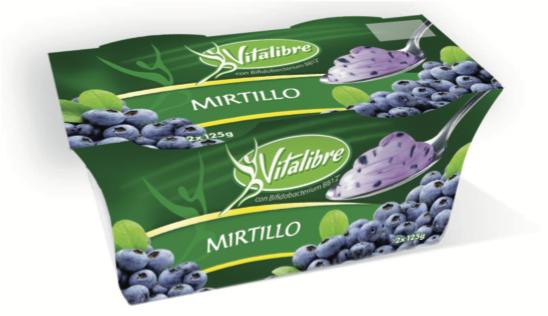 vitalibre latte fermentato mirtillo