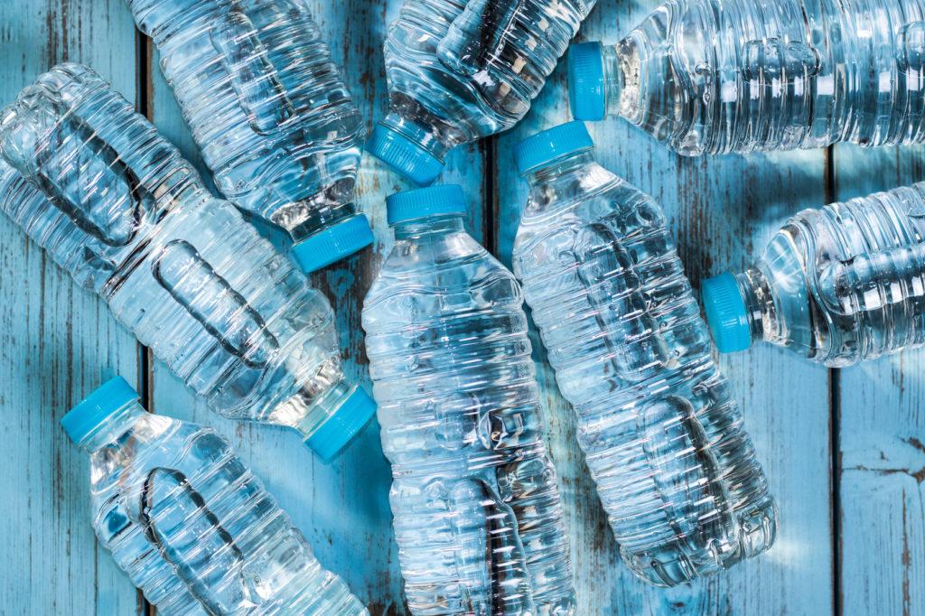 bottiglie acqua minerale plastica vuoto a rendere