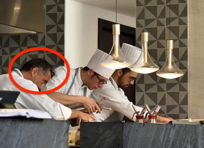 Locanda Perbellini cuoco Giancarlo Perbellini