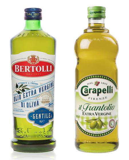 carapelli bertolli olio extravergine di oliva