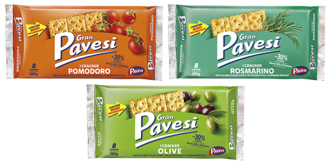 gran pavesi cracker gustosi