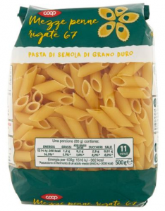 pasta coop penne 2018