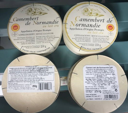 Camembert richiamo 2018