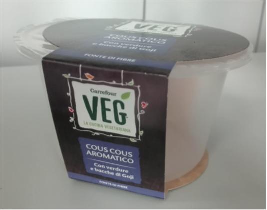 cous cous aromatico carrefour veg