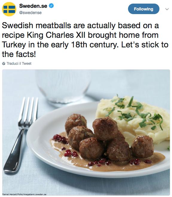 ikea polpette svedesi twitter